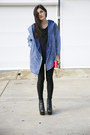 Black-platform-missguided-boots-blue-denim-parka-yesfor-jacket