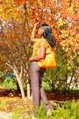 Gold-uk2la-top-carrot-orange-rimen-co-bag-light-brown-express-pants