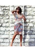 wrap dress Maggie London dress