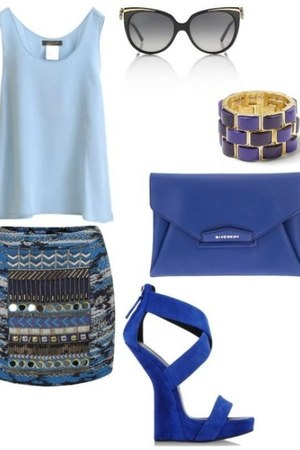 blue blue Target blouse
