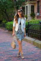 heather gray booties sam edelman boots - silver snake print Nordstrom dress