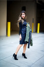 Black-ankle-boots-asos-boots-navy-denim-7-for-all-mankind-dress