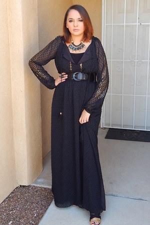 black ALTUZARRA dress