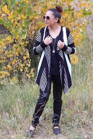 black Charlotte Russe cardigan - black kirna zabete for target leggings