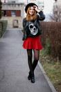 Stradivarius-boots-h-m-hat-romwe-jacket-sheinsidecom-blouse-zara-skirt