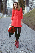 Choies coat - Jeffrey Campbell heels - Michael Kors watch