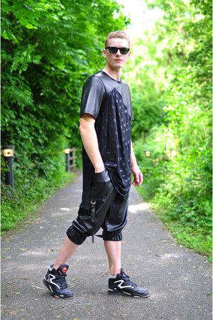 black The Left bank by Hardy Punglia shorts