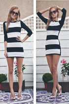 striped buylevard dress