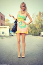 tie dye UNIF dress