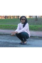 peach Pennyblack bracelet - white H&M shirt - H&M sunglasses