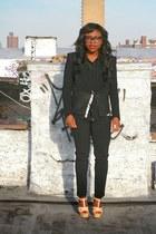 black lysia Diane Von Furstenberg blouse