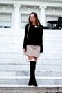 Stuart-weitzman-boots-h-m-sweater-rebecca-minkoff-bag-forever-21-socks