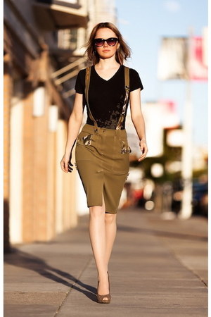 pencil skirt The Rear Pocket skirt