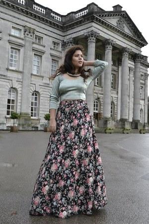 floral maxi Jyoti Chandhok skirt