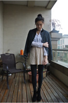 asos boots - TINA GIA jacket - Forever 21 skirt