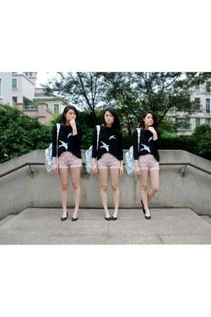 Forever 21 shorts - knit Zara jumper