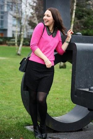 Oasis shirt - Zara sweater - Zara skirt