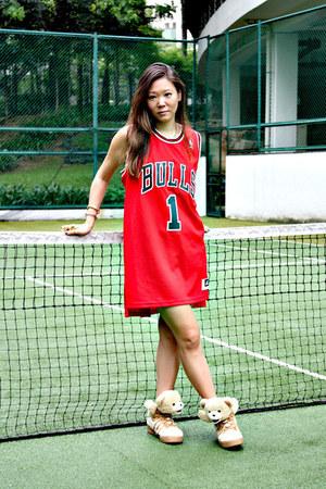 Adidas dress - pandora Givenchy bag - Adidas sneakers - Monika Chiang ring