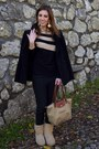 Ugg-boots-zara-coat-handmade-sweater-longchamp-bag-h-m-earrings