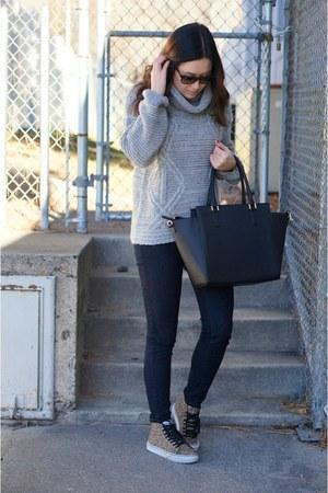 silver Sheinside sweater