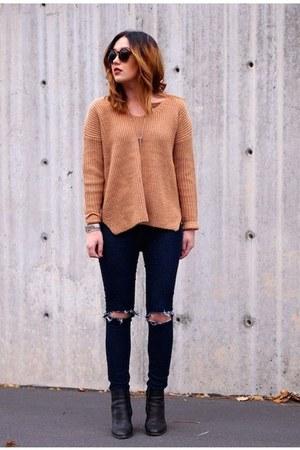 bronze OASAP sweater