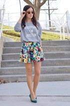 heather gray stylestalker sweatshirt