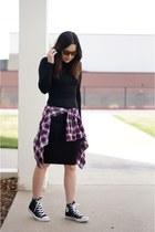 black cbsla dress