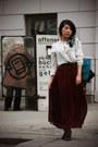 Lace-up-asoscom-boots-chiffon-zara-shirt-chiffon-maxi-american-apparel-skirt