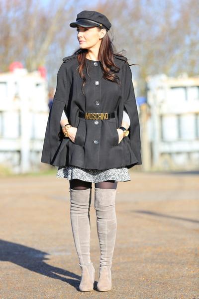 H&M cape - Zara skirt
