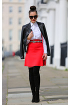 whistles jacket - Reiss skirt