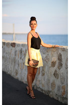 Zara skirt - Topshop top - Zara sandals