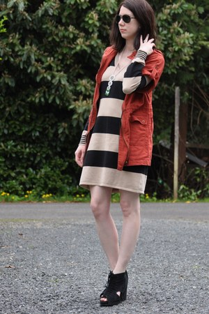 madewell dress - Jeffrey Campbell shoes - Forever 21 jacket