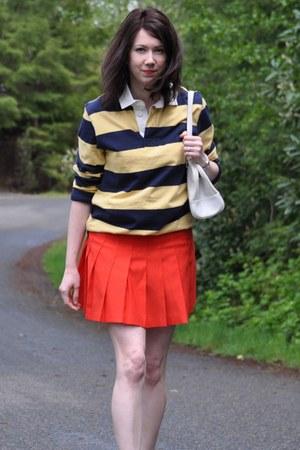 thrifted skirt - Target shirt