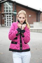 quilted Luisa Spagnoli jacket - vintage Miss Sixty jeans