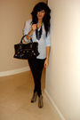 Blue-uo-shirt-beige-f21-shoes-black-balenciaga-purse-black-uo-necklace