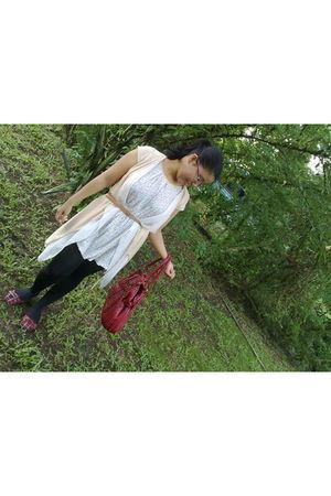 miami beach stockings - Peppermint blouse - Laviola shoes