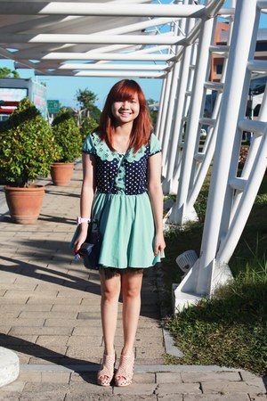 blue freebird bag - aquamarine Tiffany Dress dress