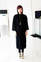 gold gold Fishbone Heels heels - black polyestercotton Volturi Cape hoodie