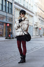 Ivory-cosmode-coat-red-big-star-jeans-black-rugby-ralph-lauren-hat