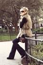 Beige-vintage-havana-vest-navy-blanknyc-jeans-brown-ralph-lauren-bag