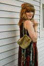 Gold-prima-donna-bag-tan-prima-donna-vintage-dress