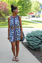 Mango dress - Old Navy bag - Urban Outfitters sandals