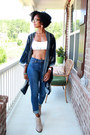 Lucky-brand-boots-paige-jeans-kimono-forever-21-cardigan