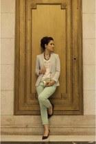 Zara jeans - heather gray Zara blazer - Zara t-shirt