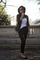 gold Michael Kors watch - bronze Reece Hudson purse - dark gray dita sunglasses