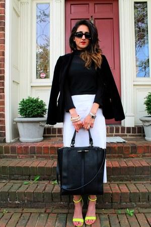Zara blazer - Zara bag - Gucci sunglasses - Zara heels