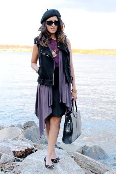 H&M vest - H&M hat - Love by Ya-Ya skirt