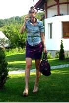 Espri shirt - American Apparel skirt