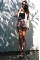 Mango shorts - Zara vest