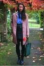 Steve-madden-boots-miu-miu-coat-vintage-shirt-vintage-skirt